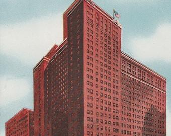 Hotel Sherman Chicago Illinois Vintage Postcard il204