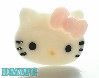 Hello kitty Dust plug for phone protector cat accessory cartoon decoden decor embellishment supply iPhone Samsung decorative kawaii