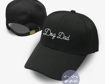 Dog Dad Hat Embroidery  Baseball Cap Tumblr Pinterest Unisex Size