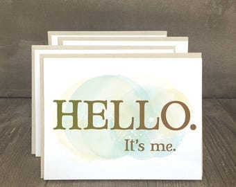 All occasion note cards, hello cards, notecards, all occasion cards, Hello