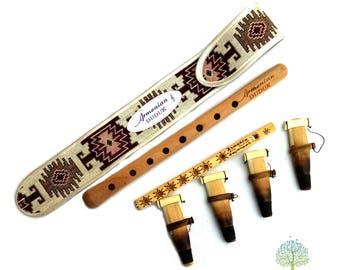 Key A DUDUK MEGA PACK professional Armenian Oboe Balaban Woodwind Instrument Apricot Wood - Gift Armenian flute with Playing Instruction