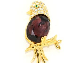 """Joan Rivers Vintage Brooch """"Jelly Bird"""""""