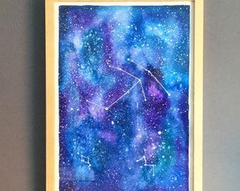 Original paiting: constellations