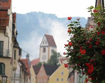 Flowers in Fussen