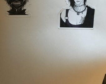 Kaneki + Uta Tokyo Ghoul Stickers