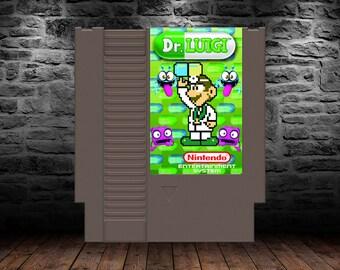 Dr. Luigi - The Year of Luigi Continues into 2017! - NES