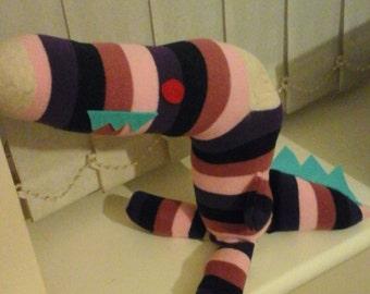 Sock dinosaur