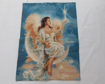 Vintage French Beautiful  Tapestry (2343)