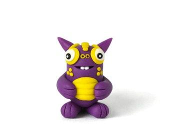 Mini Monster - Andrew - Plum