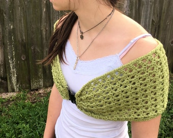 Chunky Merino Wool Shawl, Wrap, Shrug
