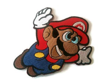 Super Mario Bros Embroidered Patch