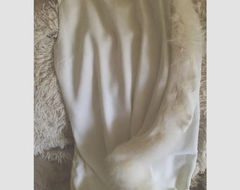 ParaKiss White Feather Dress
