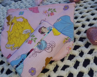 Princess Cosmetic bag and tissue holder