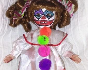 Creepy yet cute clown
