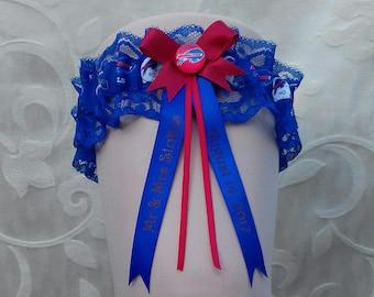 Buffalo Bills Personalised Wedding Garter