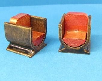 Quarter Scale Art Deco Chairs Kit