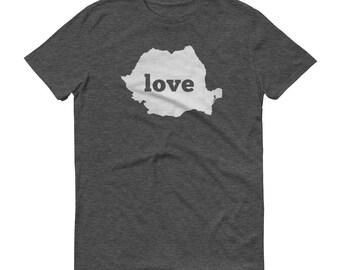 Romania, Romanian Clothing, Romania Shirt, Romania T Shirt, Romania TShirt, Romania Map, Romanian Gifts, Made in Romania, Romania Love Shirt