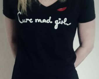 Cure mad girl t shirt
