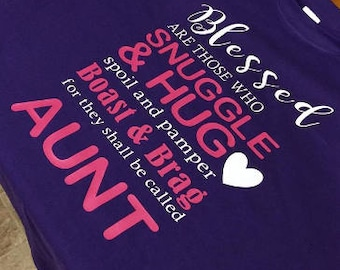 Blessed Aunt Shirt