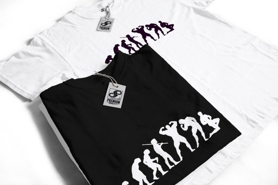 Evolution of a Body builder T-Shirt - Funny Gift Idea