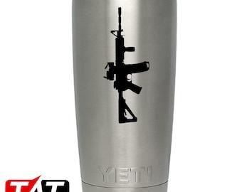 AR-15 YETI Decal