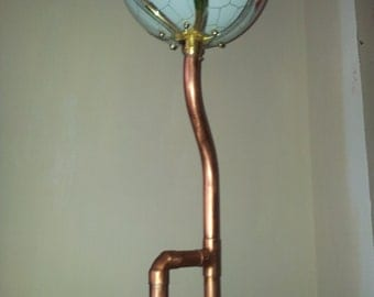 The Flower steampunk industrial lamp