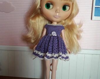 Dress in crochet for Neo Blythe