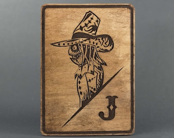 Scarecrow Day of the Dead Card