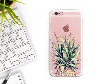 iPhone 7 Case Pineapple iPhone 7 Plus Case Clear iPhone 6S Case iPhone 6 Case Clear iPhone 6 plus case iPhone 6s Plus Case Samsung S7 Case
