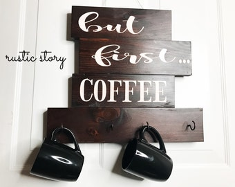 But first COFFEE | mug holder