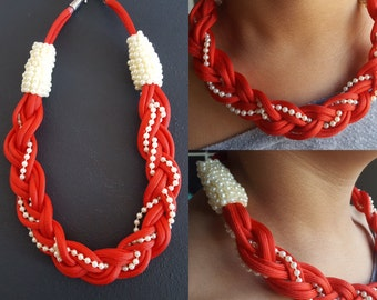 "Create your own ""Diva"" braided necklace"
