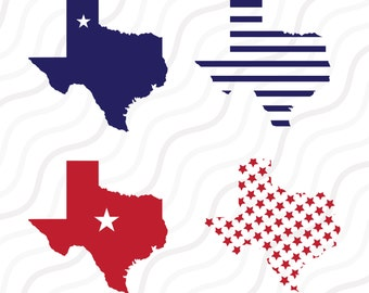Texas Map SVG, Texas  Clipart,Texas SVG,Texas Pattern SVG  Cut table Design,svg,dxf,png Use With Silhouette Studio & Cricut_Instant Download