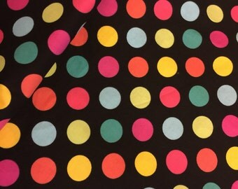 "Polka Dot Fabric 3/4 "" by Blue Hill Fabrics Designer Cotton Fabric-100% High Quality Cotton By the HALF Yd"