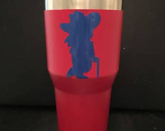 Ole Miss Rebels 20 oz and 30 oz Ozark Trail tumbler Colonel Reb NEW Gameday Ready Grove Ready