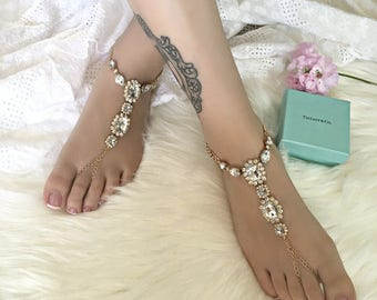 French Riviera barefoot sandals for BRIDES and BRIDESMAIDS *Beach weddings!*