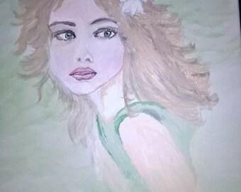 Original Painting, Free Spirited