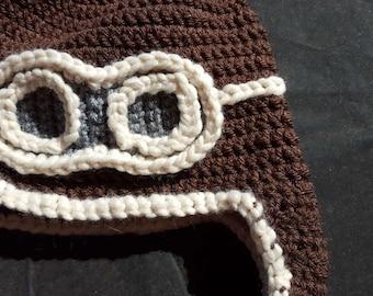 Aviator Crochet Hat Pattern