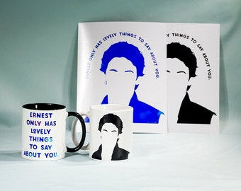 RTS Jess Mariano & Ernest, Coffee Mug, Gilmore girls - READY to SHIP