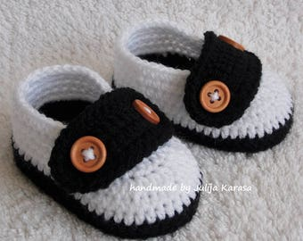 Baby booties crochet, baby shoes handmade, newborn shower gift, crochet baby shoes, crochet baby booties, choose your size