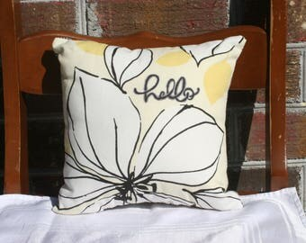 10x10 Hello Sunshine Pillow