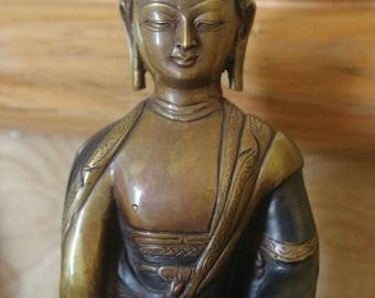 "8"" Inch Akshobhaye Buddha statue - ""Immovable One"""
