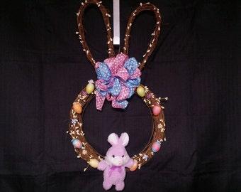 Handmade Spring Time Easter Wreath
