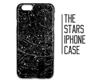Constellations Phone Case for iPhone 7 Plus 6 6s 5 5s 5c + Stars Night Sky