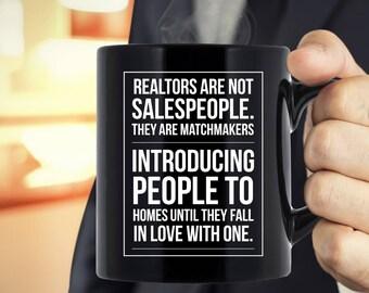 Realtors Are Not Salespeople - Cool Mug for Realtors - Variant 2