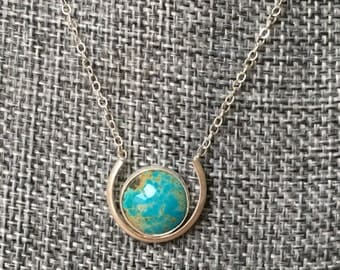 A World of Luck necklace (blue)
