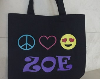 Personalized and Customizable Tote Bags