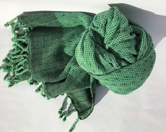 100% COTTON TURKISH TOWEL- Pestemal,Beach Towel, Peshtamal, Striped Towel, Turkish Bath,  Yoga Towel, Baby Blanket, Fouta,  Hammam Towel