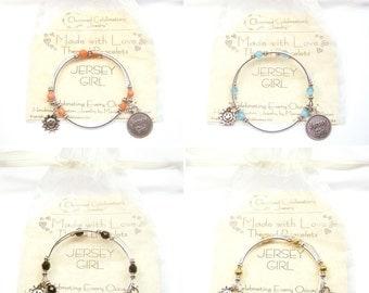 Handmade Jersey Girl Bracelet