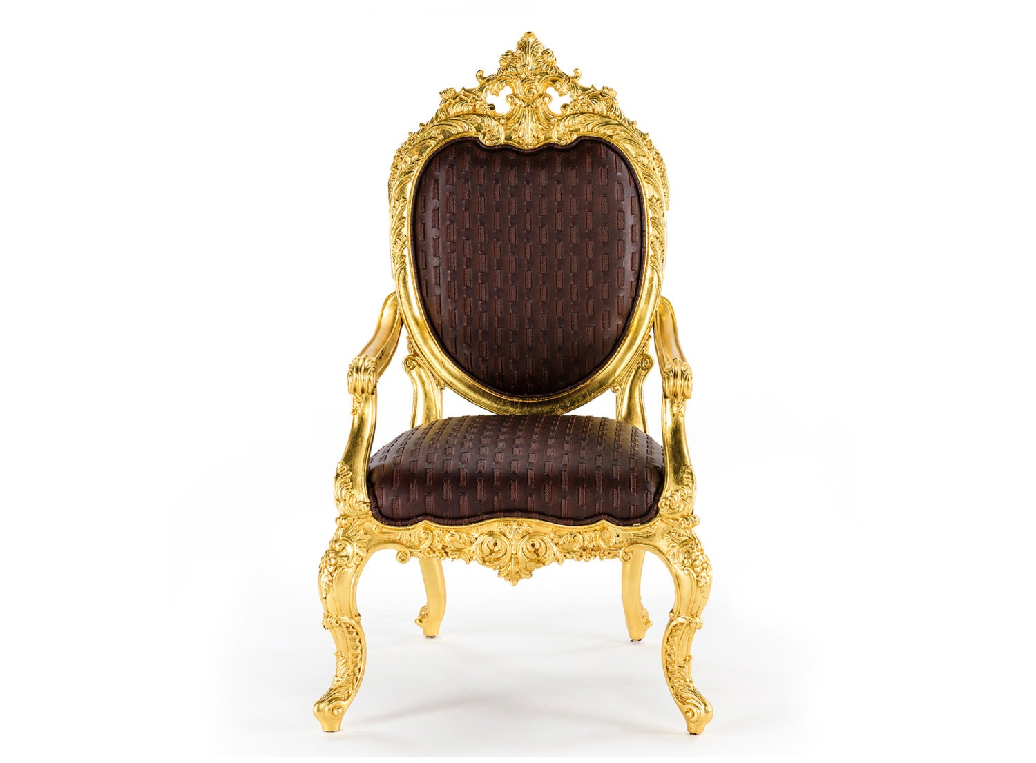 Magnificent oval back gold gilt rococo chair baroque throne for What is the other name for the rococo style