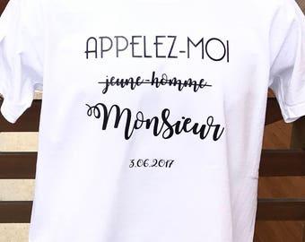 T-shirt call me Mr - groom future gift - EVG - EVG gift - groom gift - EVG t-shirt - bachelor party boy